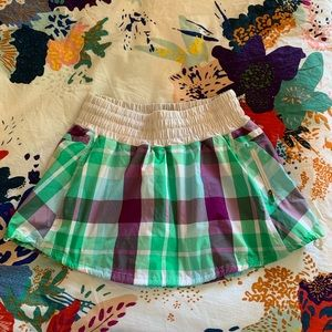 Unique Lululemon tennis skirt skort plaid!